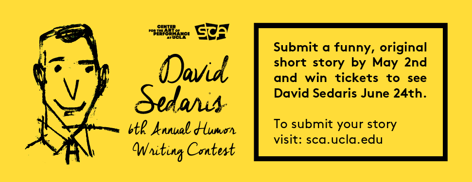 6th annual David Sedaris Humor Writing Contest – Student ...