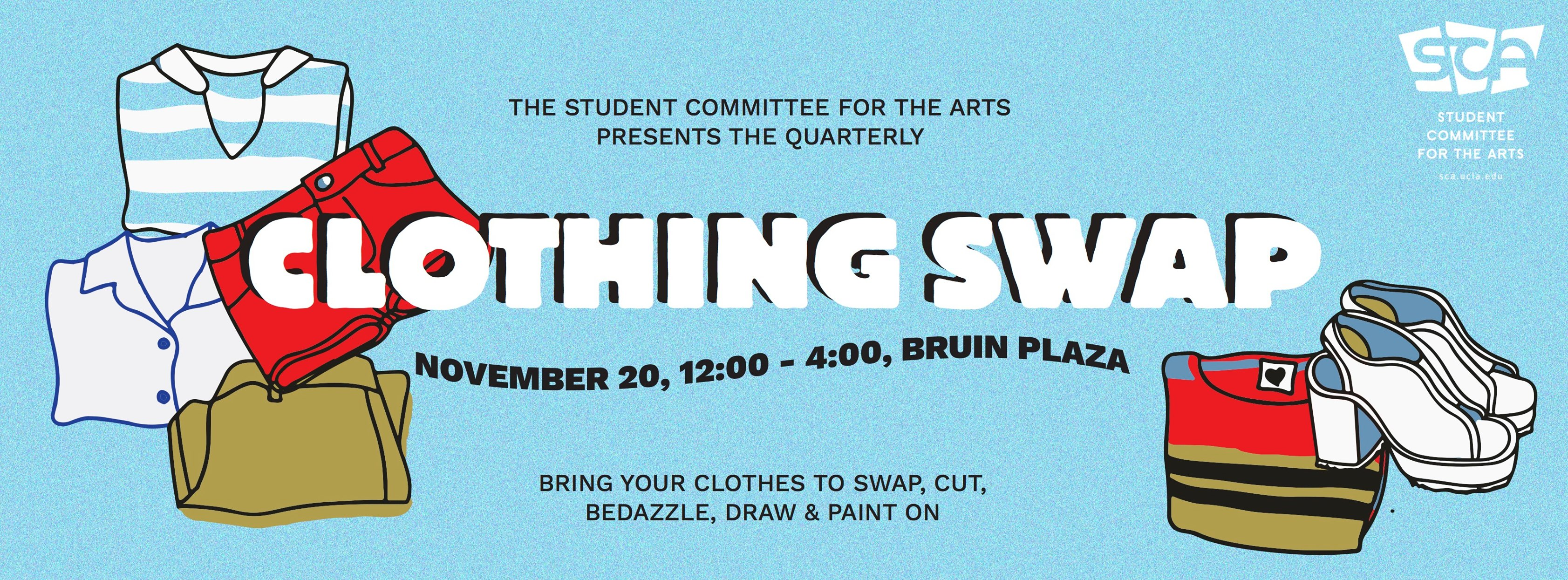 Fall Quarterly Clothing Swap! – Student Committee for the