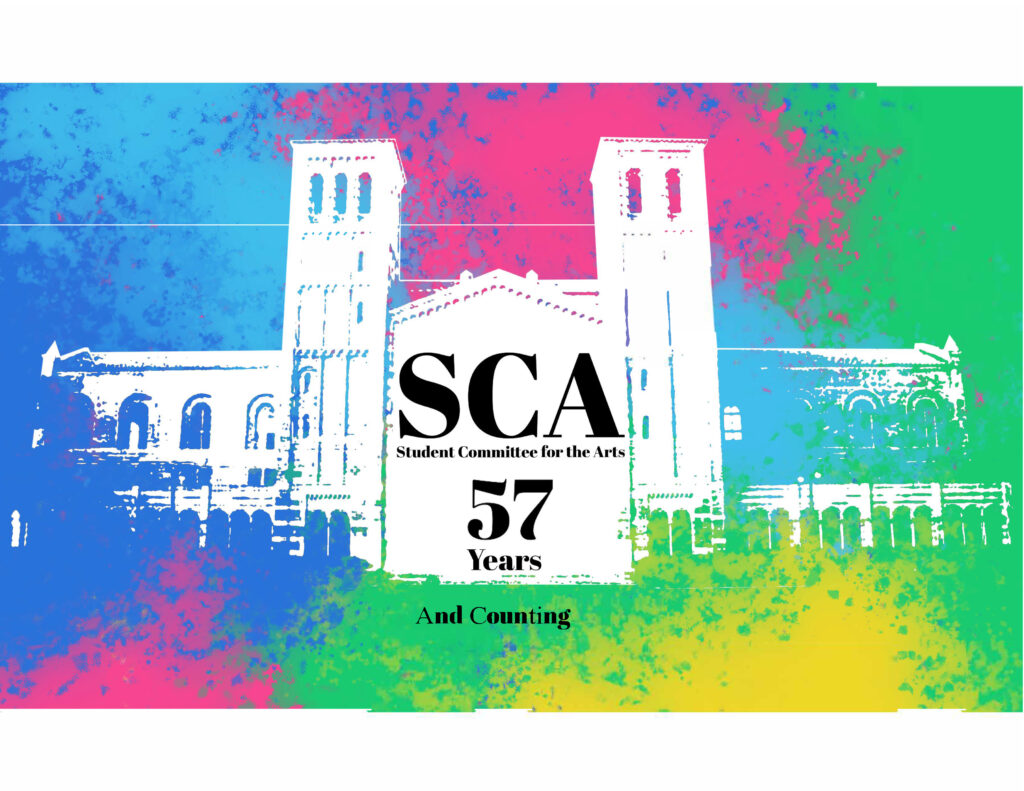 SCA (Student Committee for the Arts) 57 Years and Counting