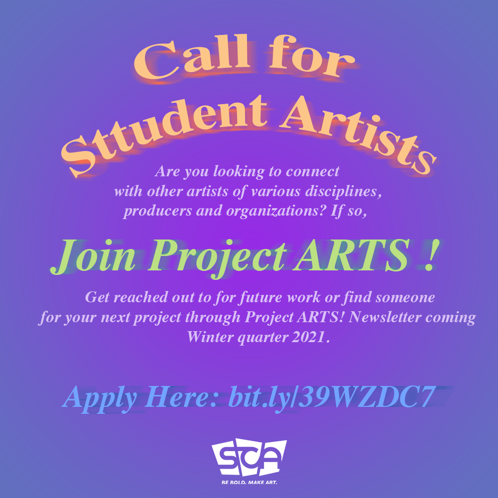 SCA Project ARTS flyer