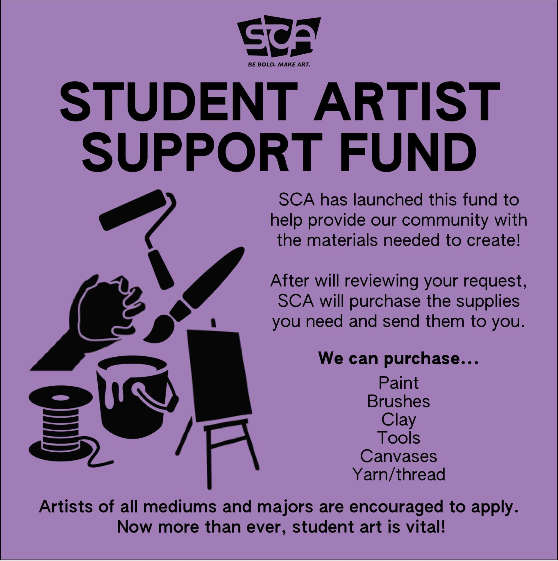Student Artists Support Fund