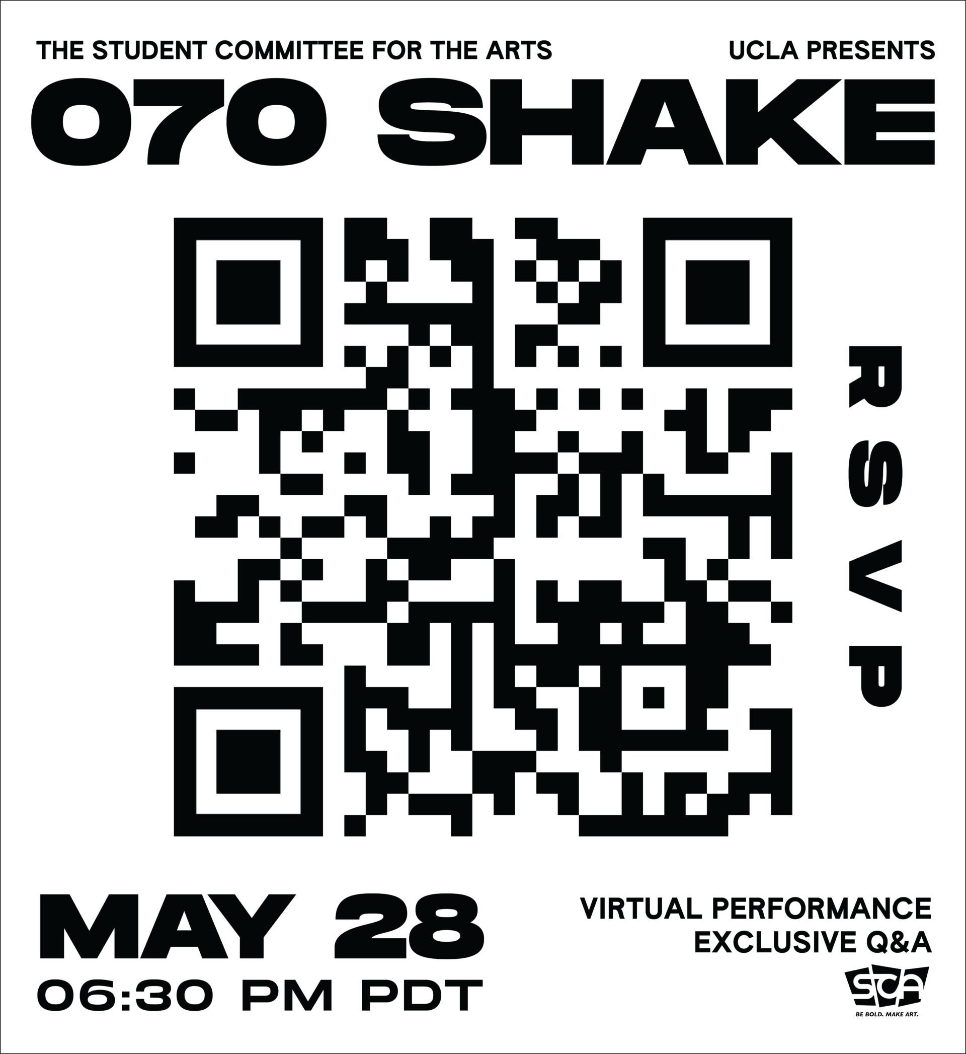 070 Shake Performance QR Code